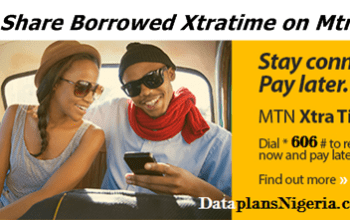 How to Share Borrowed Xtratime on Mtn to Mtn
