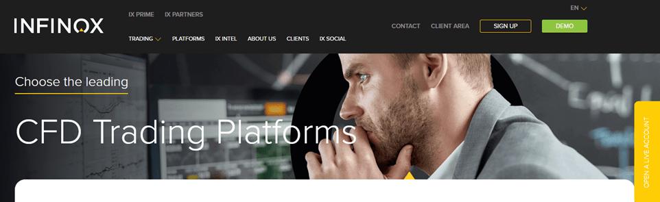Infinox Capital Live Account Sign Up –  Best CFD Trading Platforms | MetaTrader 4 & 5 App Download