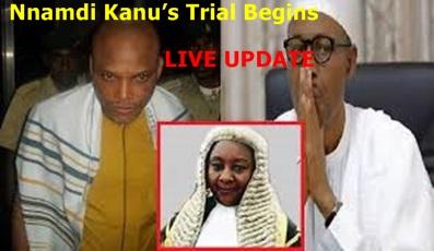 Nnamdi Kanu's Trial Begins (LIVE UPDATE)