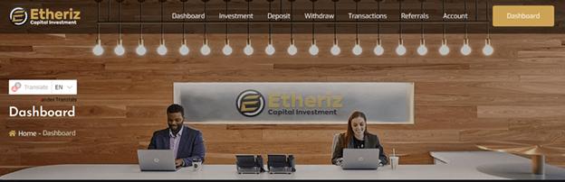 Etheriz Capital Investment Sign Up – How Etheriz Capital Investment Works | How To Earn Money With Etheriz Capital Investment