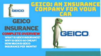 GEICO Insurance Company – An Insurance Company For Your Car And More
