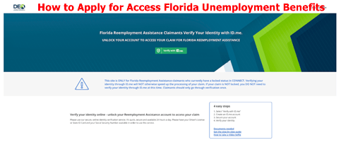 How to Apply for Access Florida Unemployment Benefits-Eligibility
