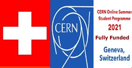 CERN Online Summer Student Program Switzerland 2021 – How To Apply