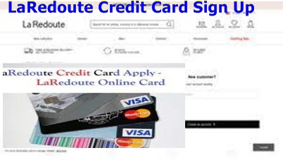 LaRedoute Credit Card Sign up