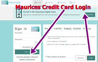 Maurices Credit Card Login   Maurices Credit Card Customer Service -How to Pay Bills with Maurices Credit CardCare Line