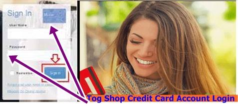 Tog Shop Credit Card Sign Up   Tog Shop Credit Card Account Login – Tog Shop Credit Card Bills Payment