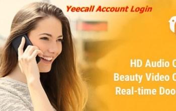 Yeecall account login