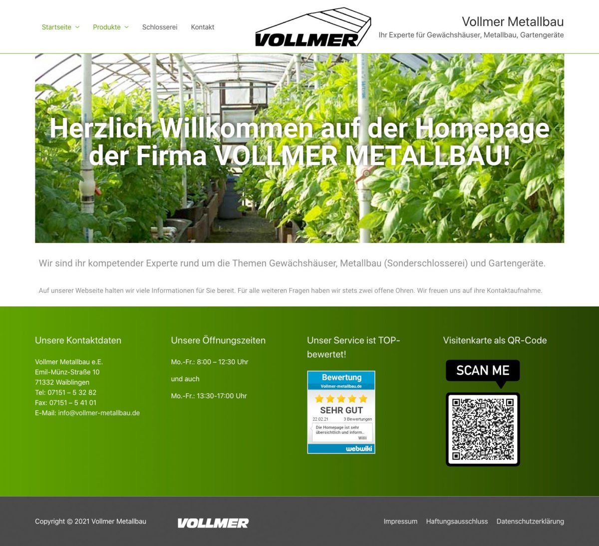 Vollmer Metallbau