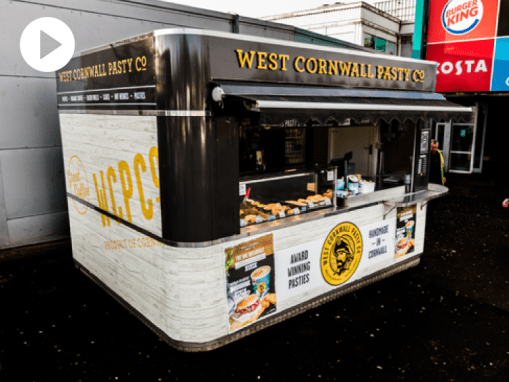 Kiosk Vinyl Wrap | West Cornwall Pasty