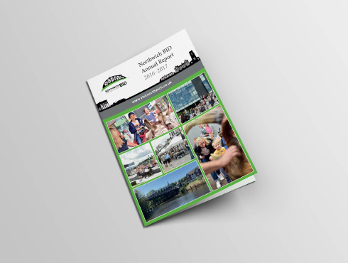 Printed Branded Brochures | Northwich Business Improvement District