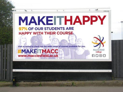#MAKEITMACC Campaign | Macclesfield College