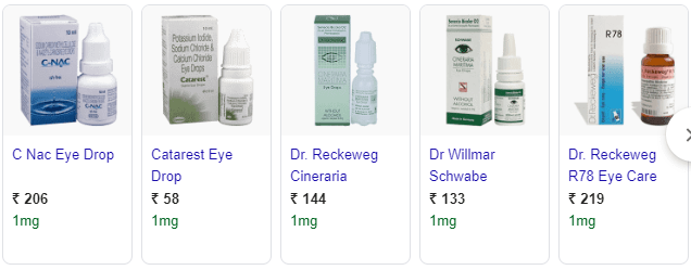 CATARACT EYE DROP 9