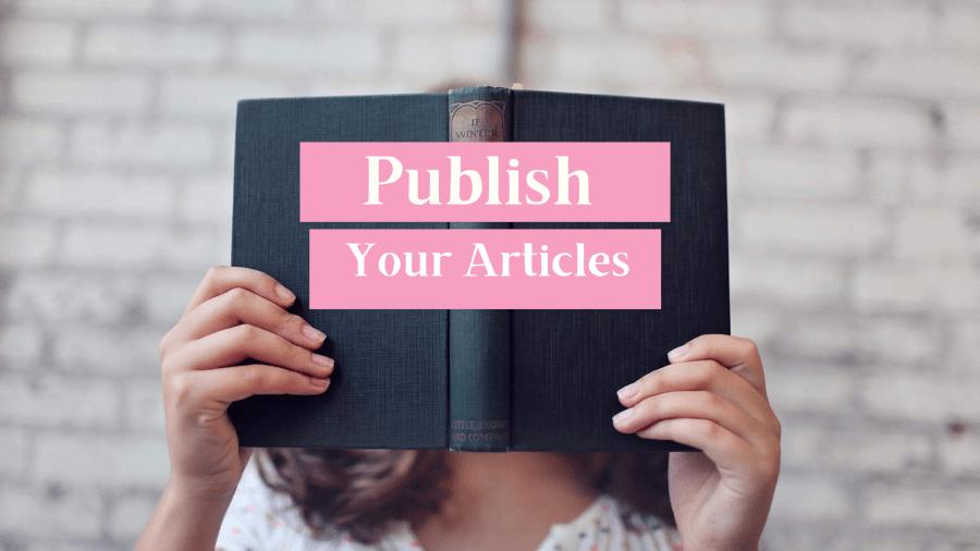 Publish your article