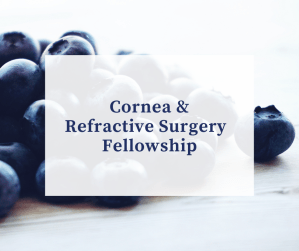 corneal and refractive surgery fellowship