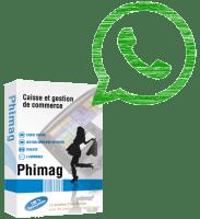un module permet d'envoyer des sms à partir du logiciel magasin