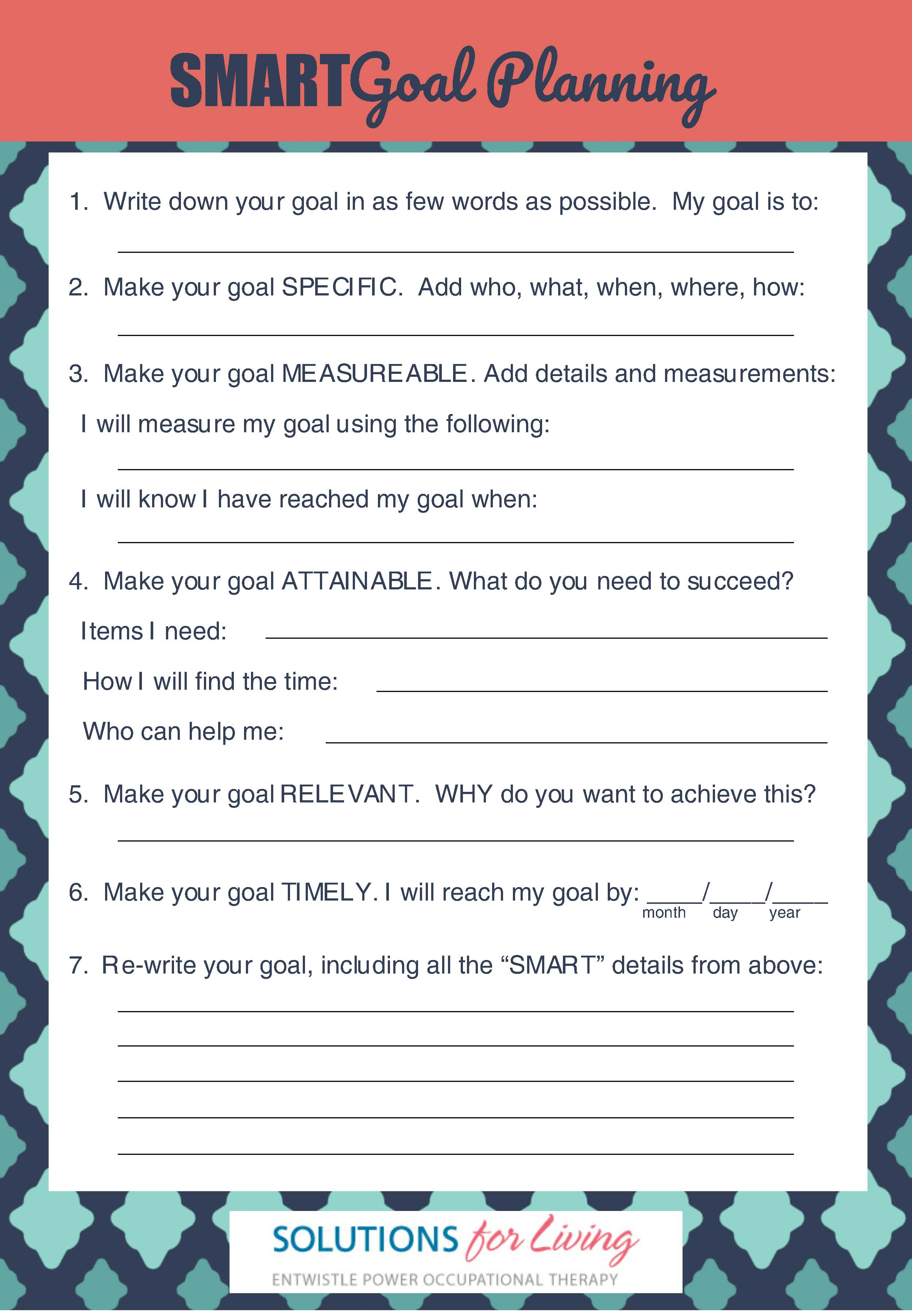 Goal Planning Guide