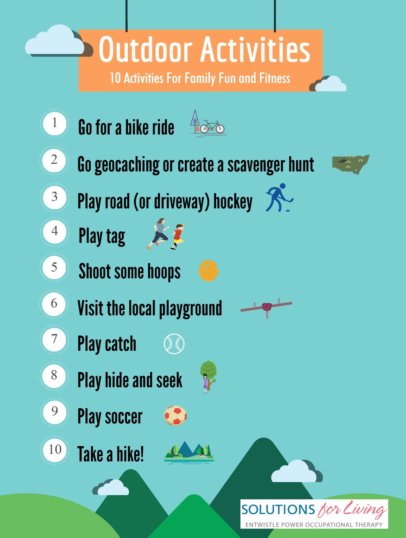 Healthy Outdoor Activities Solutions For Living
