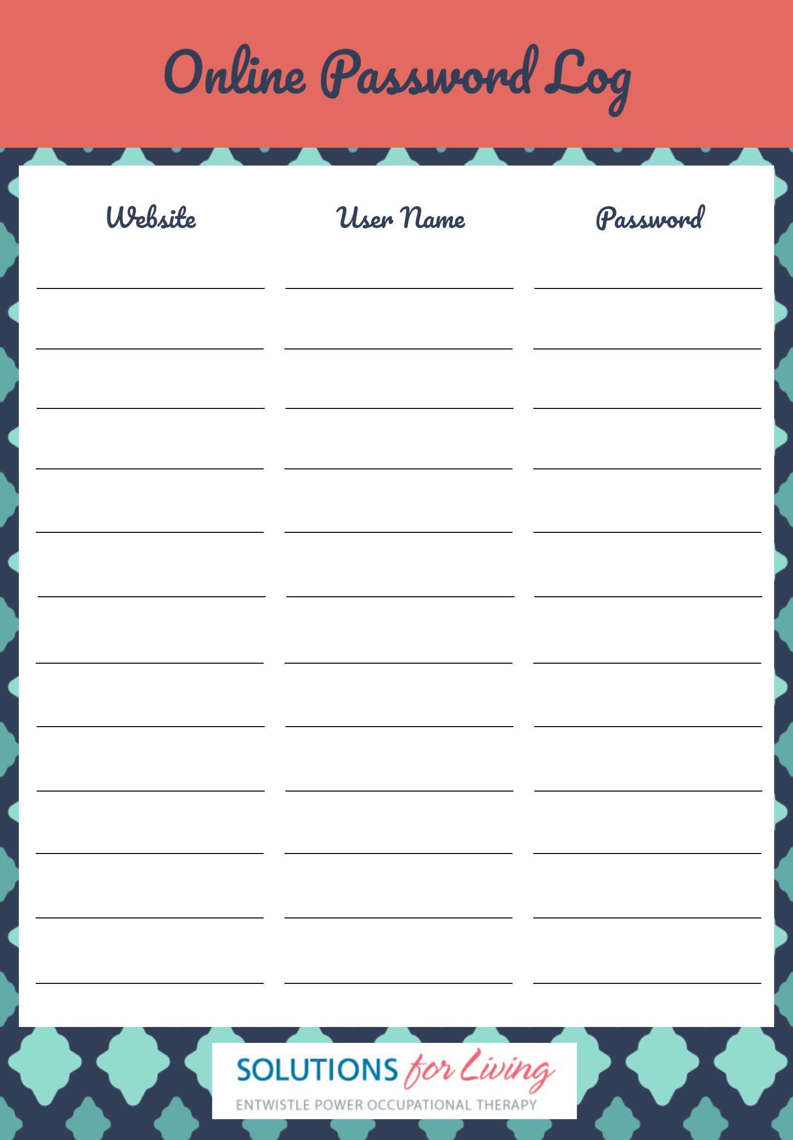 Passwords For Super Teacher Worksheet