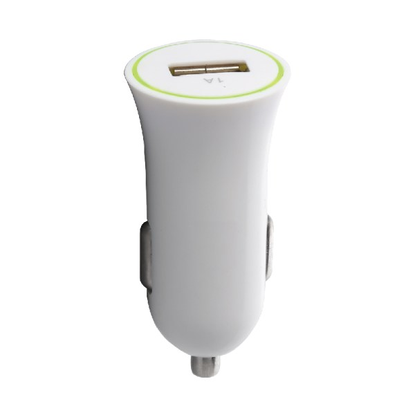 Car charger USB 1A Core White
