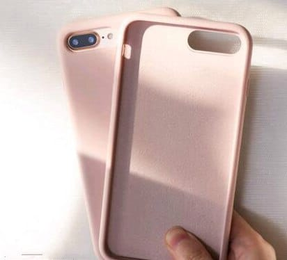 Samsung S8 Silicone TPU Phone Case Cover Pink