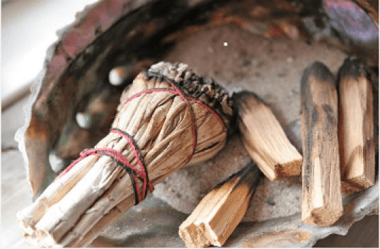 Encens de purifiction Sauge Et Palo Santo