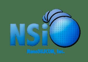 NanoSILICON, Inc. Custom Logo by Solution X Marketing