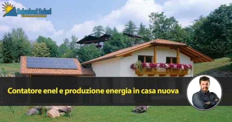 taglia contatore enel e produzione energia elettrica