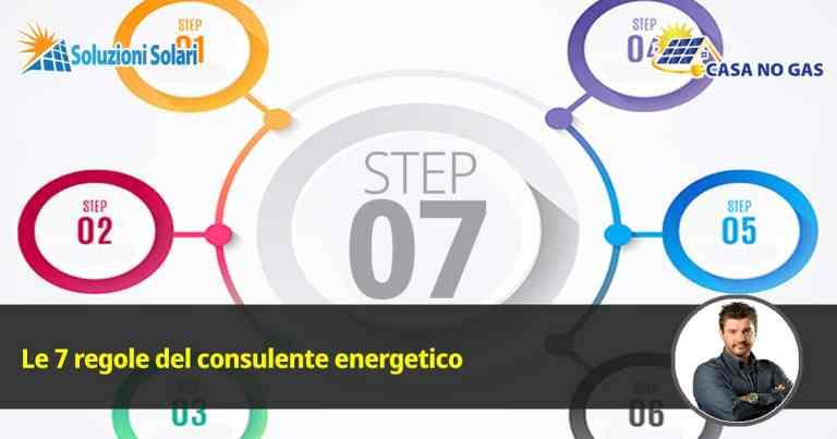 7 regole consulente energetico