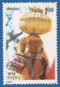 Bhil Tribe Woman