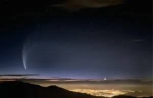 Comet Mc Naught Over Santiago