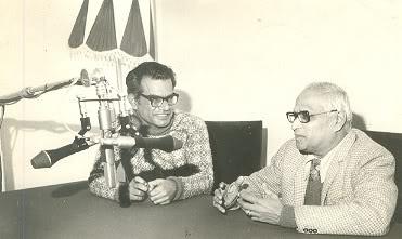 தி.ஜானகிராமனுடன் வெ.சா
