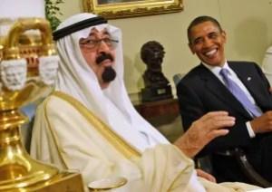 Obama with Saudi King