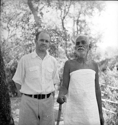 ரமண மகரிஷியோடு ஆர்தர் ஆஸ்போர்ன்