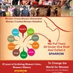 பெண்களின் படைப்புகளுக்கான ஆவணக்காப்பகம்- SPARROW Enters its Silver Jubilee Year