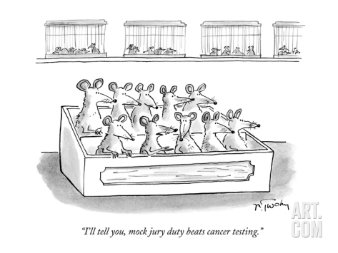 mike-twohy--i-ll-tell-you-mock-jury-duty-beats-cancer-testing--new-yorker-cartoon_Images_Comics