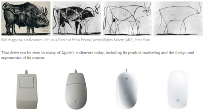 Bull_Mouse_Apple_University_Picasso_NYT_Innovation_Design_Simple_Solution_Problem_Learn_Teach