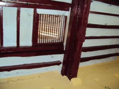 Kumudini's House removable door above indoor well