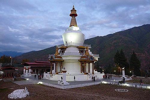 Bhutan_Thimpu_Chorten_Temples