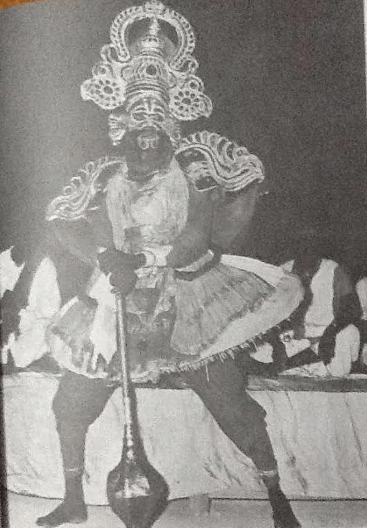 Thambiran_Indian_Tamil_Folk_Artists_Thampiran_Kannappa_Koothu_theru_Performers