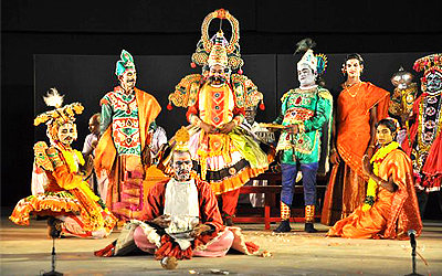 Theru_Koothu_Theater_Mahabharat_Bharadham_Dances_Performance_Terukkuttu_Indian_Folk_Theatre