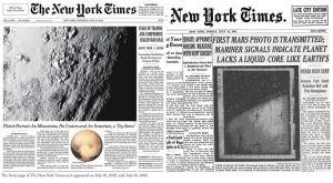 NYT_Mars_Pluto_Newspaper_Headlines