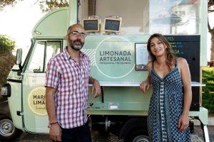Monica and João the owners of Maria Limão