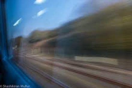 outside train