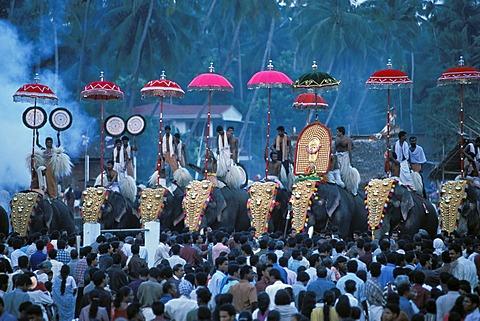 Thrissur Pooram Images