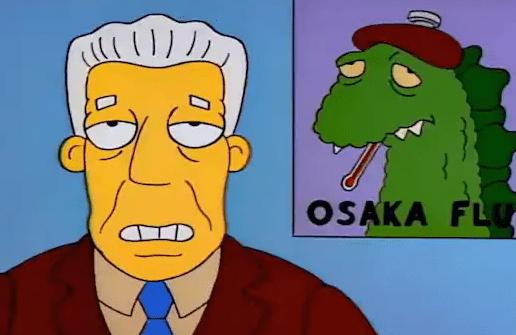 The Simpsons had already predicted the corona
