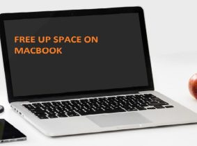 Free up space on MACBook