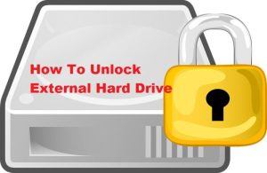 How To Unlock External Hard Drive On Mac OS
