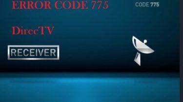 Error 775 Code DirecTV