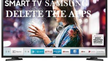 Delete Apps on Samsung SmartTV