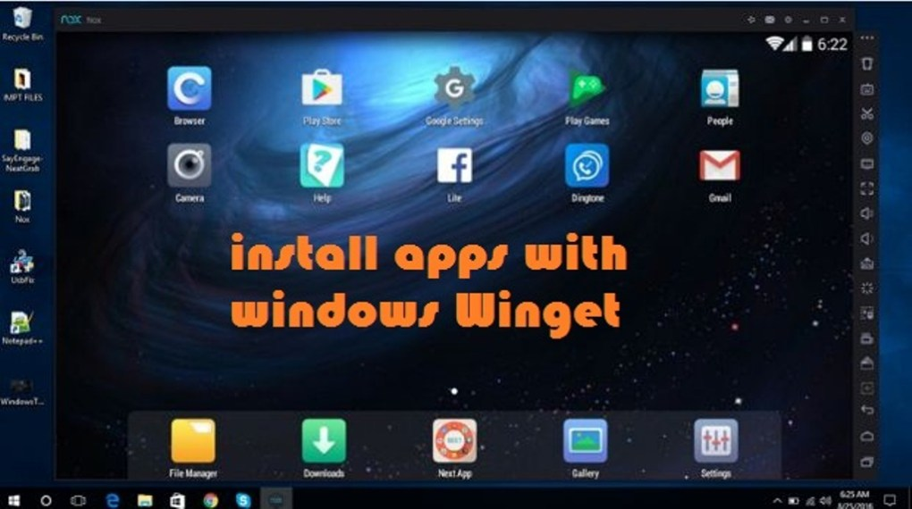 Install Apps With Windows package manager in Windows 10